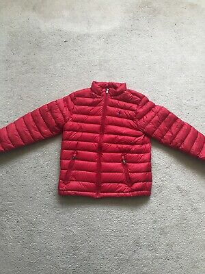 Ralph Lauren Large Boys 14/16 Red Jacket Only Worn Once