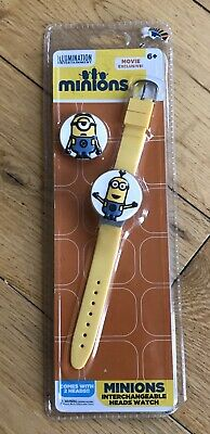 Childrens Minions Toy Watch New In Pack 6 Years +