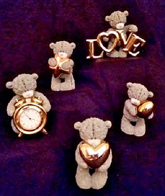 Me To You/Tatty Teddy Figurine/Ornament - Gold Collection - BOXED