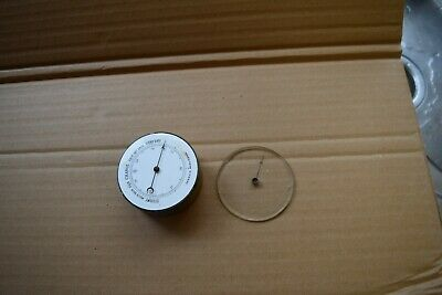 antique thermometer small clock  dial
