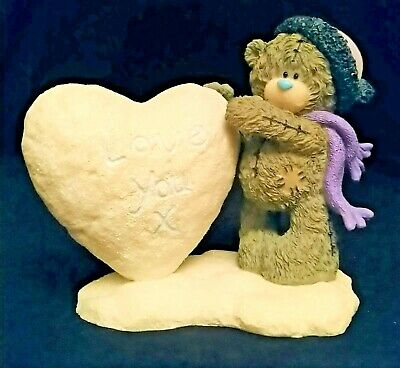 Me To You/Tatty Teddy Figurine/Ornament - 41185 - I Love You Snow Much - Boxed