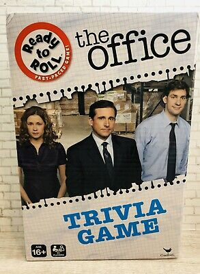 The Office Tv Show Trivia Game Ready To Roll Fast-paced Game 2+ Players 150Q NIB