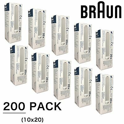 200 Braun Probe Covers Thermoscan Replacement Lens Filter Thermometer Caps, PC20