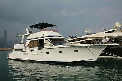 52 ft Prima Motoryacht with two great engines, weekender, liveaboard Hong Kong