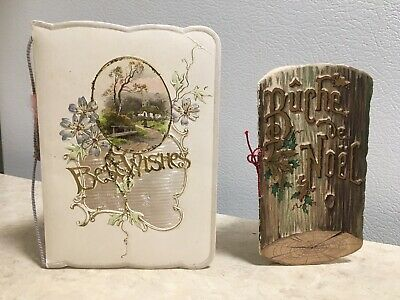 Antique Christmas Cards (Mini Booklets)