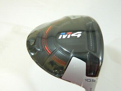 New Taylormade M4 10.5* Driver FJ Atmos 5R Regular M-4 RH + Headcover & wrench