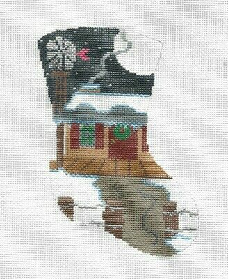 """Strictly Christmas NBC  /""""A Right Jolly Old Elf/""""  HP Needlepoint Canvas Series"""