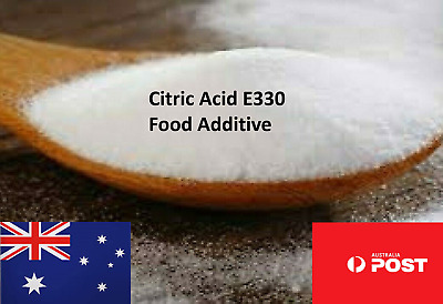 Citric Acid High Purity Food Additive Food Grade Juice Candy Bakery E330 Pantry