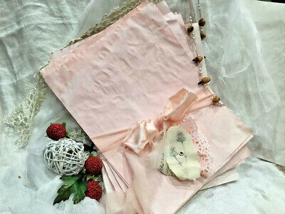 Hand Dyed Rose Scented Scrapbook Stationery Junk Journal Supplies