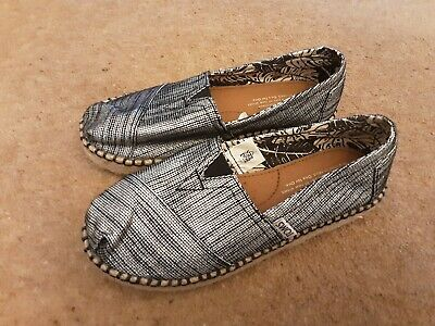 Toms Girls Shoes Size Uk 1