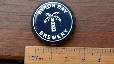 """1 x BYRON BAY BREWERY """"NEW ORDER WERE HERE '87"""" BOTTLE CAP"""