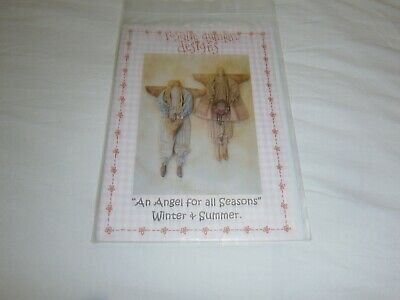 """Rosalie Quinlan """"An Angel For All Seasons"""" Cloth Doll Pattern - 50 Cms Tall"""