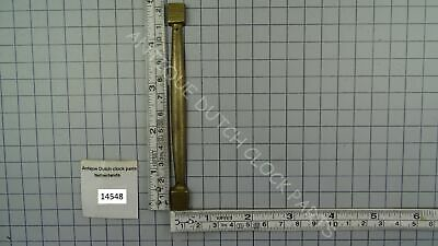Brass Pillar For Dutch Sallandse Or Schippertje Wall Clock Case