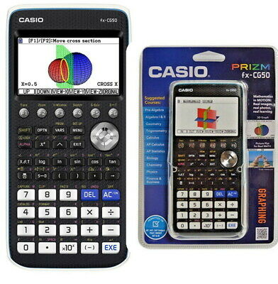 CASIO PRIZM FX-CG50 Color Graphing Calculator School - NEW