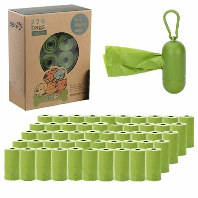 Poop Bags for Dogs Biodegradable Waste Pet Dog/Cat Scented & Unscented Poo Bag