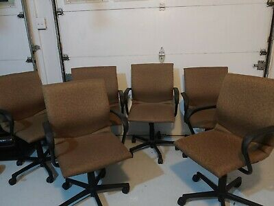 Steelcase Conference Room Chairs. Excellent Used Condition. Lot of 6
