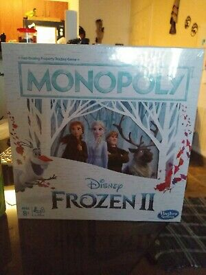 Monopoly Disney FROZEN II Board Game Journey Through Arendelle & Beyond New