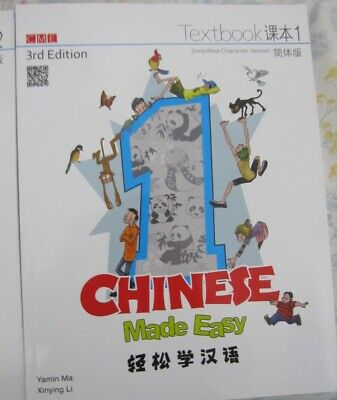Chinese Made Easy Textbook 1 RRP $60