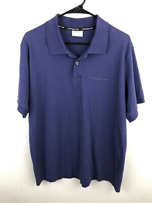 Porsche Driver/'s Selection 70th Year Anniversary LOGOED Charcoal Polo XS BNWOT