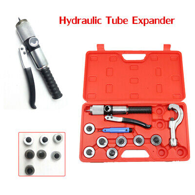 """7 Lever Hydraulic Tube Expander Tool Swaging Kit For 3/8′ 1/2′ 5/8′ 3/4′ 7/8′ 1"""""""