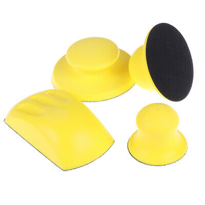 Sanding Disc Holder Sandpaper Backing Polishing Pad Hand Grinding Block ZX  №.
