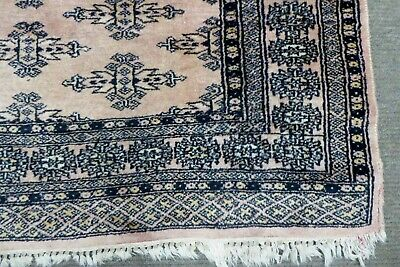 Antique Persian Eastern Hand Knotted Woollen Woven Floor Rug Carpet Pakistan
