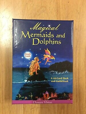 Doreen Virtue Oracle Cards Mermaids and Dolphins Brand New