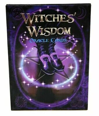 Witches Wisdom Oracle Cards - Illustrated by Richard Cookes