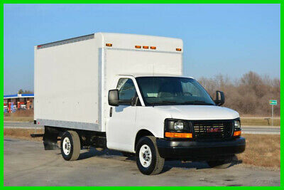 2015 GMC 3500 12ft Box Truck is a Former Penske Rental and Fleet Maintained