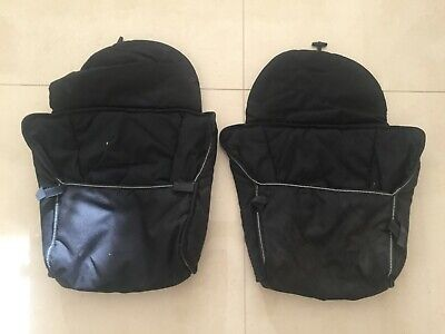 Childcare Baby Toddler Twin Double Stroller footmuffs covers