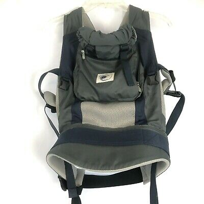 ERGObaby Performance Lightweight Baby Carrier Babywear Blue Charcoal BCP03405