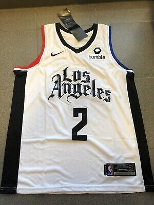 Canotta Jersey Shirt Nba Los Angeles Clippers Leonard 2