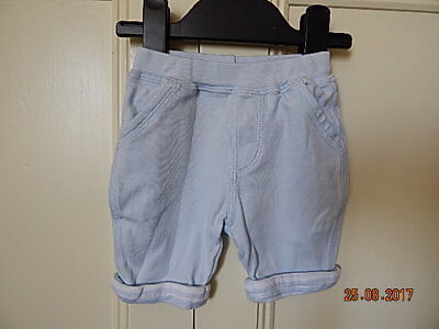 Next Lovely Baby Boys Light Blue Cotton Jogging Bottoms  Sz New Baby