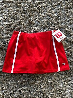 Wilson Girls Tennis Skirt Shorts Sport Brand New With Tags Age 8, 9, 10 Years