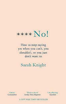 F**k No! By Sarah Knight BRAND NEW on hand IN AU!