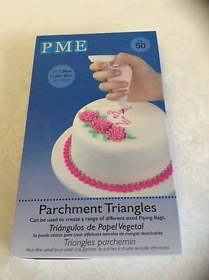 PME Pack of 50 Parchment Triangles
