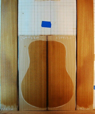 quartersawn, old catalpa tonewood guitar luthier set back and sides rare