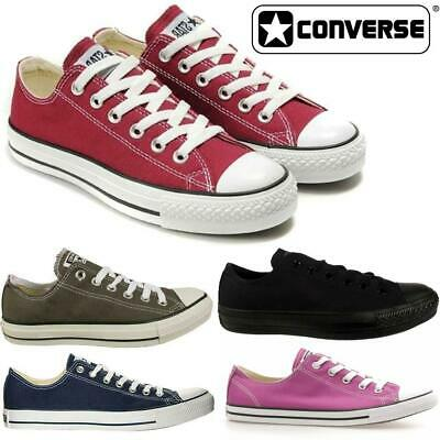 Mens Boys Girls Ox Lo Chuck Taylor All Star Converse Canvas Sneakers Trainers UK