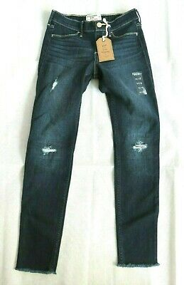 Abercrombie & Fitch Kids Blue Jeans Pull-on Jean Legging Boys 11 / 12