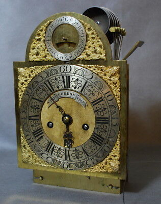 Patrick Gordon Edinburgh            Bracket clock with 7 bells