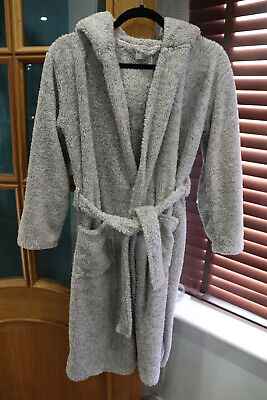 girls grey cat dressing gown age 11-12 from F&F