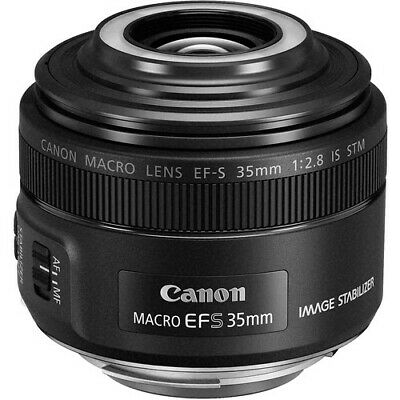 Canon EF-S 35mm f/2.8 Macro IS STM Camera Lens 220C002 New