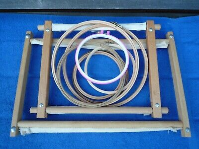 Job Lot of Tapestry Frames & Hoops , Different Sizes , Good Used Condition.