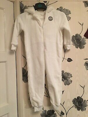 Ultra Soft Primark Sleep Suit All In One Pyjamas Pjs Age 5/6 Bnwt