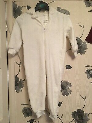Supersoft Primark Sleepsuit All In One Pyjamas Pjs Age 4/5 Bnwt
