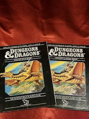 Dungeons & Dragons - Master Dungeon Master's Book & Master Player's Book - 1985