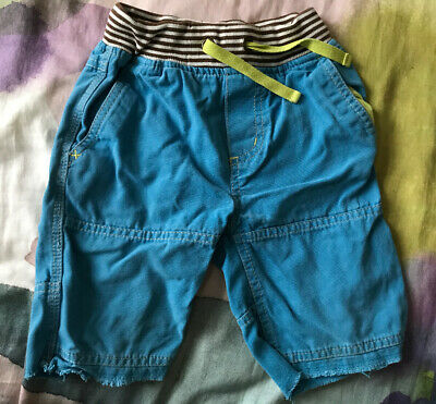 Mini Boden Boys Blue shorts age 3 years old