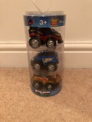 Toy Story Disney Store Friction Cars Woody Buzz Zurg