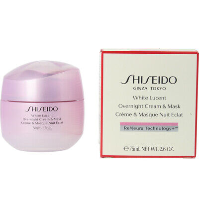 Cosmética Shiseido mujer WHITE LUCENT overnight cream & mask 75 ml