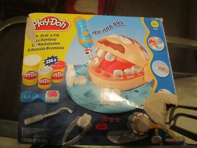 playdoh dentist dr drill n fill boxed childrens toy childs
